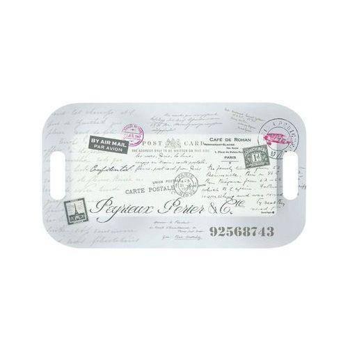 Taca z uchwytami nostalgie pocztówka z paryża marki Nuova r2s