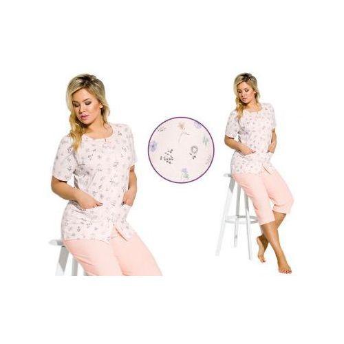 Piżama damska fabia: morela marki Taro