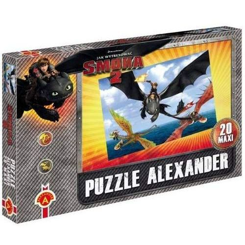 Alexander puzzle 20 maxi smoki 2lot nad morzem (5906018010091)