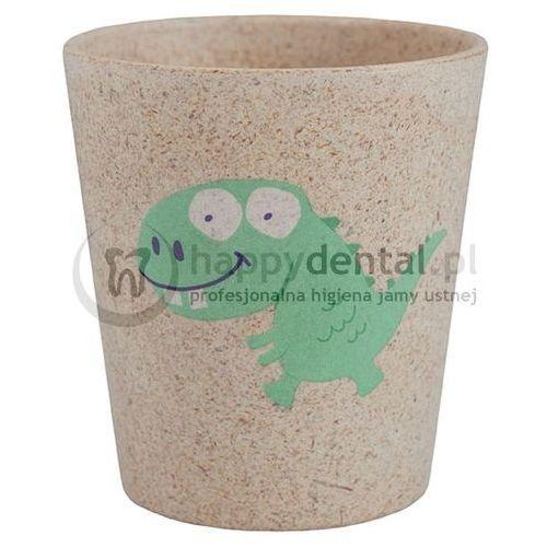 Jack-n-jill dino - biodegradowalny kubeczek na szczoteczki marki Jack n'jill
