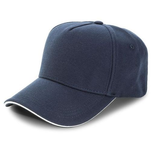 Czapka TOMMY HILFIGER - Pique Cap AM0AM03333 413, kolor niebieski