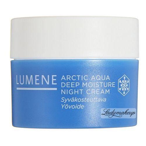 Lumene , arctic aqua deep moisture night cream - głęboko nawilżający krem na noc 50ml (6412600801125)