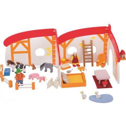 Goki Domek dla lalek - mobilna farma