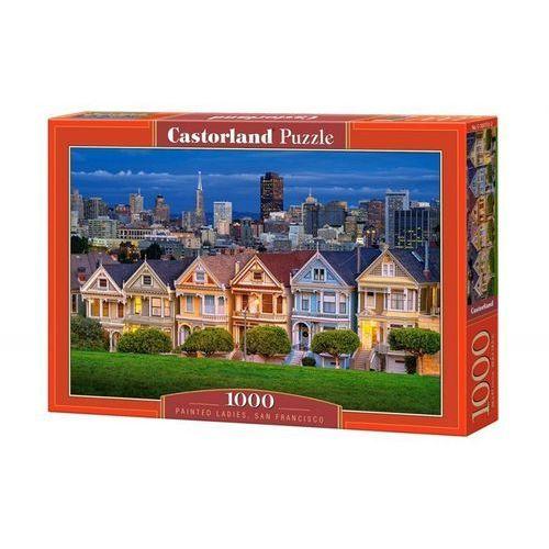 Puzzle 1000 painted ladies, san francisco - od 24,99zł darmowa dostawa kiosk ruchu marki Castor