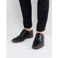 bartolello leather brogue shoes in black - black marki Aldo