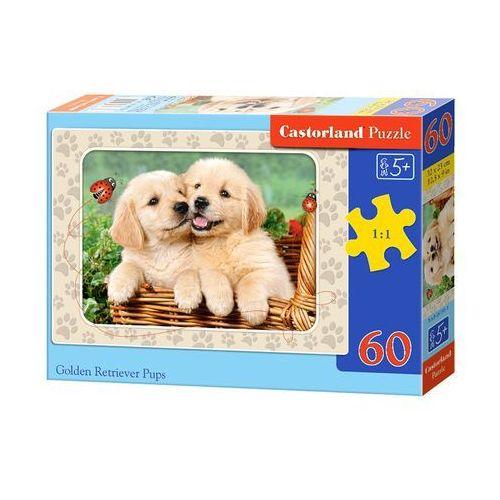 Puzzle 60 Golden Retriver Pups CASTOR, AM_5904438006786