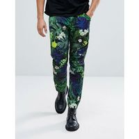 G-Star Elwood 5622 x 25 Pharrell Jeans in Tropical Print - Navy
