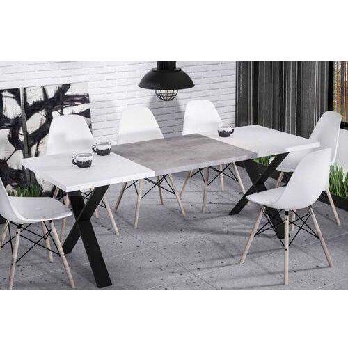 Endo Stół x rozkładany 130-170 biały połysk