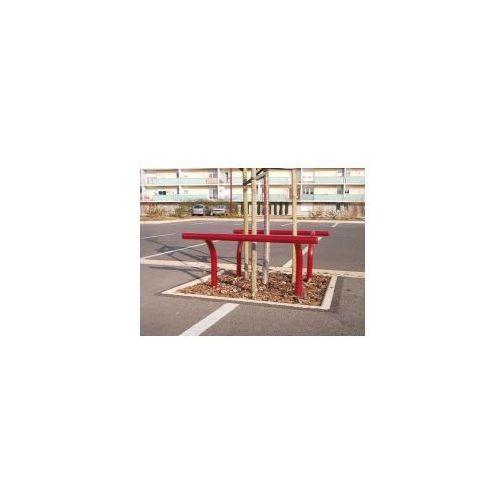 Barierka dekoracyjna ochronna - powierzchnia ocynkowana ogniowo marki Procity