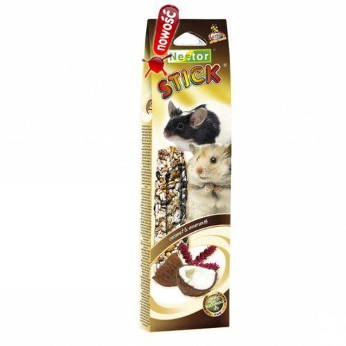 Nestor  kolba dla gryzoni i królików smaki świata z kokosem i amarantusem, 2szt.