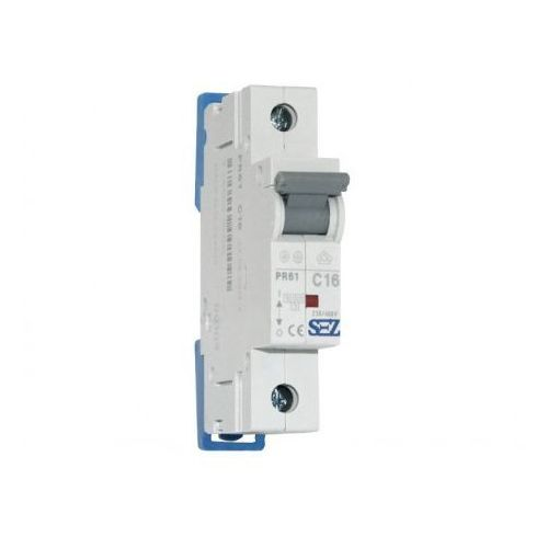 Pce C16a 1p 10ka wyłącznik nadprądowy bezpiecznik typ s eska pr61 sez 1095