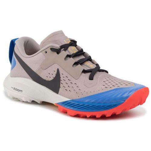 Nike Buty - air zoom terra kiger 5 aq2220 200 pumice/oil grey/pacific blue