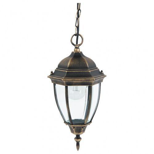 Rabalux Lampa wisząca zewnętrzna toronto 1x100w e27 ip44 antyczne złoto 8384