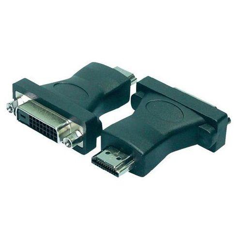Logilink Przejściówka, adapter dvi, hdmi  ah0002, [1x złącze żeńskie dvi 25-pin - 1x złącze męskie hdmi]