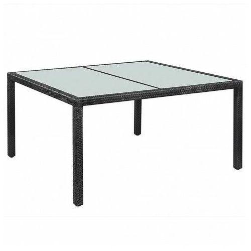 Stół ogrodowy Tress - czarny