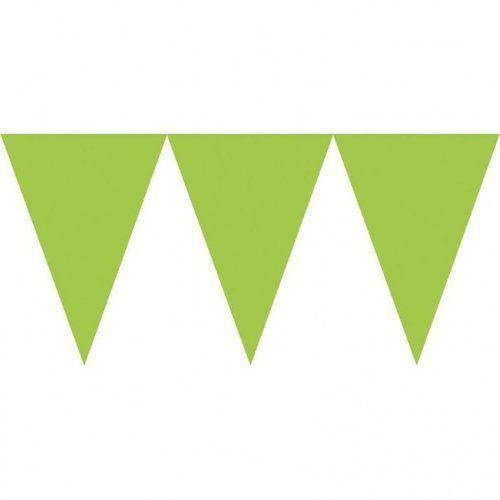 Amscan Baner papierowy 450 cm zielony kiwi