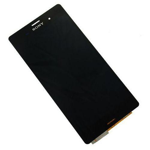 Dotyk ramka lcd wyświetlacz ekran xperia z3 czarny marki Sony