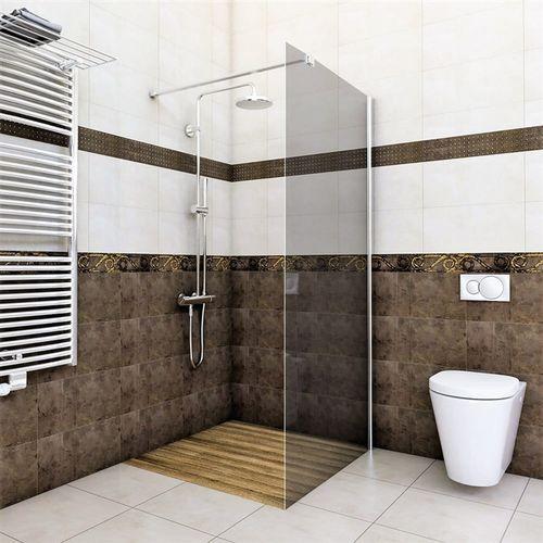 Ścianka prysznicowa 120 cm szkło grafitowe noa ✖️autoryzowany dystrybutor✖️ marki Vertisso