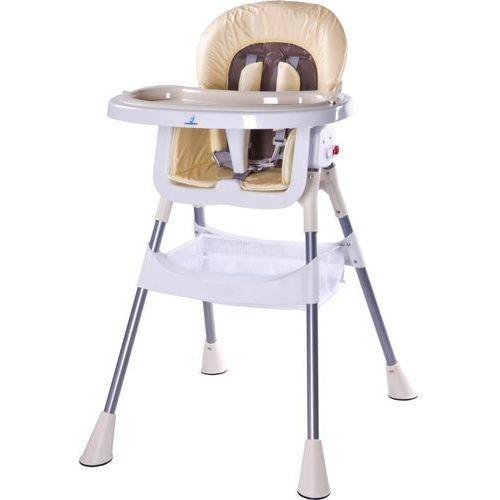 Caretero Krzesełko do karmienia pop cappuccino + darmowy transport!