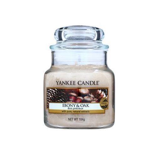 ebony & oak świeczka zapachowa 104 g classic mała + do każdego zamówienia upominek. marki Yankee candle