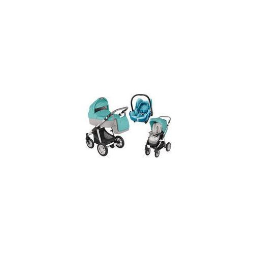 Wózek wielofunkcyjny 3w1 Dotty Baby Design + Cabrio Fix GRATIS (ocean)