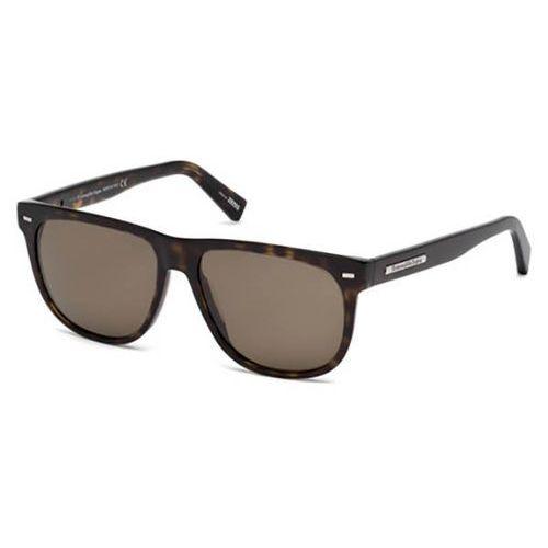 Okulary Słoneczne Ermenegildo Zegna EZ0034 Polarized 52M