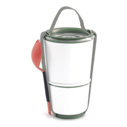 Pojemnik na lunch Lunch Pot oliwkowo-pomarańczowy (5060089724131)