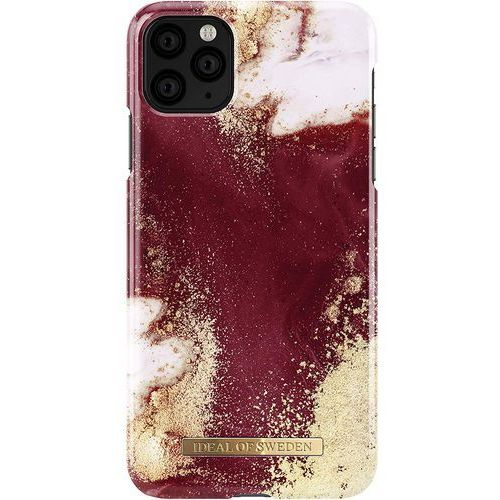 Ideal of sweden fashion case etui obudowa do iphone 11 pro max (golden burgundy marble) marki Ideal of sweden ab