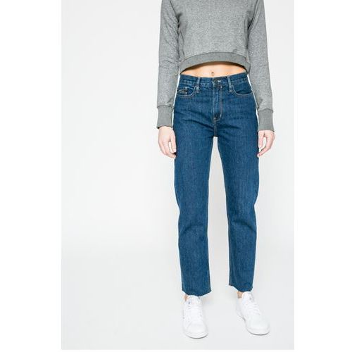 - jeansy ankle high rise, Calvin klein jeans