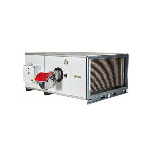 Nagrzewnica stacjonarna olejowa lub gazowa sf/h 190 - wersja pozioma - moc 186 kw marki Maser - sovelor