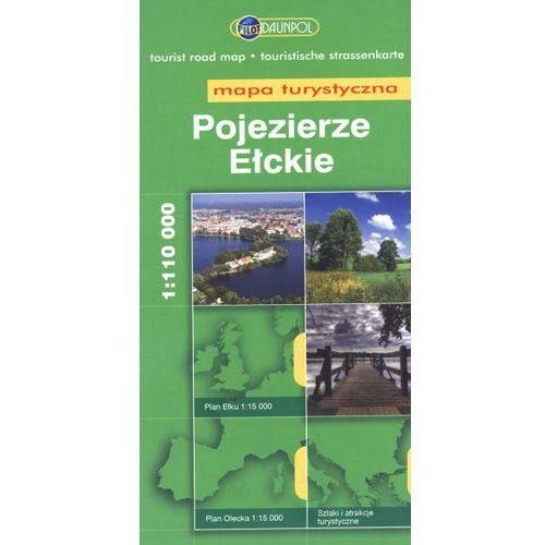 Pojezierze Ełckie. Mapa turystyczna w skali 1:110 000 (9788374756884)