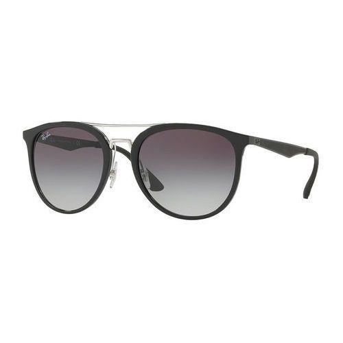 RayBan Okulary przeciwsłoneczne black/grey gradient (8053672770797)