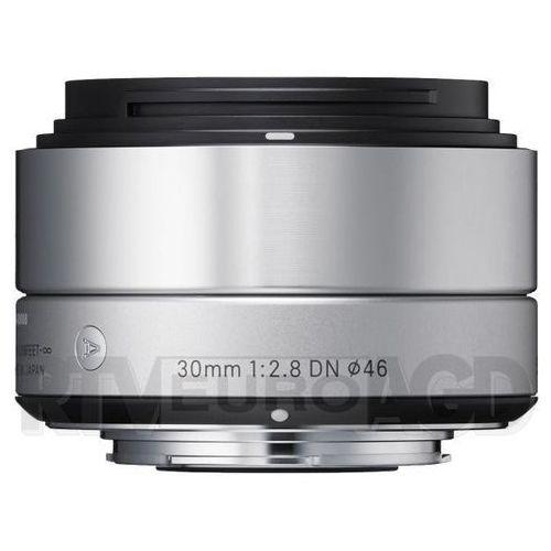 Sigma 30 mm f/2,8 dn a (srebrny) sony e - produkt w magazynie - szybka wysyłka!