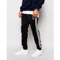 Adidas originals  superstar cuffed track pants aj6960 - black