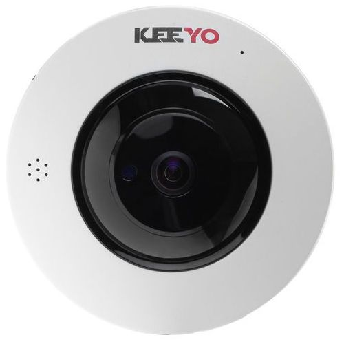Kamera fisheye sieciowa ip bezprzewodowa lv-ip2m2fe 2mpx ir 25m marki Keeyo