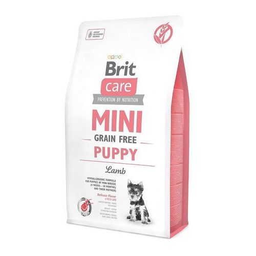 care mini grain free puppy lamb 2kg [dostawa od 8,59zł, firma rodzinna] marki Brit