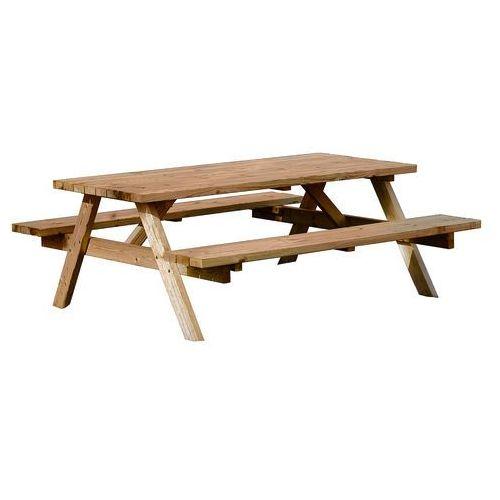 Aj produkty Ława piknikowa, 1700x1660x705 mm, brązowy