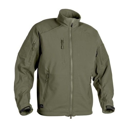 kurtka SoftShell Helikon Delta Tactical Jacket olive green (BL-DTT-FS-02) z kategorii kurtki i kamizelki militarne
