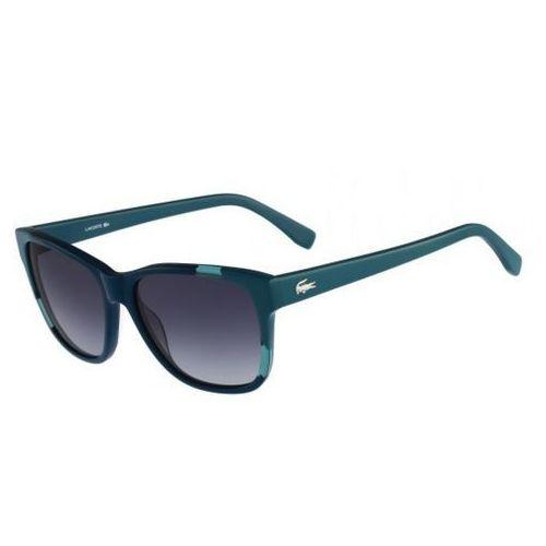 Okulary Przeciwsłoneczne Damskie Lacoste L775S Niebieskie, kolor niebieski