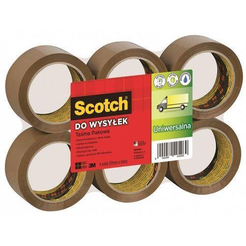 Tasma pakowa do wysyłek, 50mm x 66m, przezroczysta - rabaty - porady - negocjacja cen - autoryzowana dystrybucja - szybka dostawa. marki Scotch