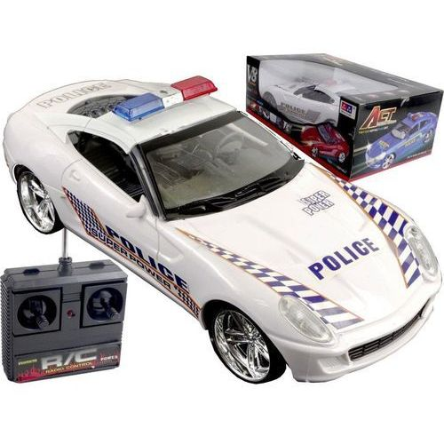 DUŻY SAMOCHÓD ZDALNIE STEROWANY POLICJA RADIOWÓZ (6991204769074)