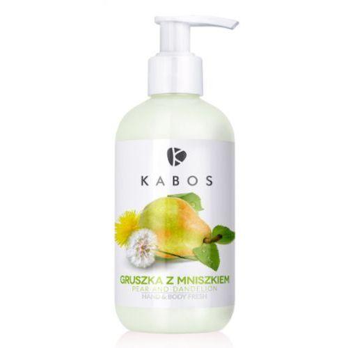 hand & body fresh pear and dandelion orzeźwiający balsam do dłoni i ciała (gruszka z mniszkiem) marki Kabos