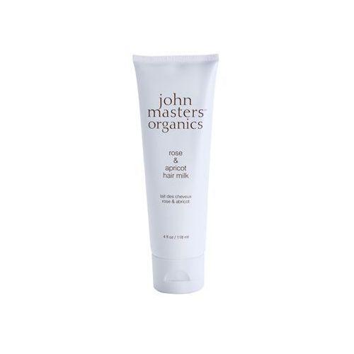 John Masters Organics Rose & Apricot mleczko bez spłukiwania do suchych końcówek włosów 118 ml - sprawdź w wybranym sklepie