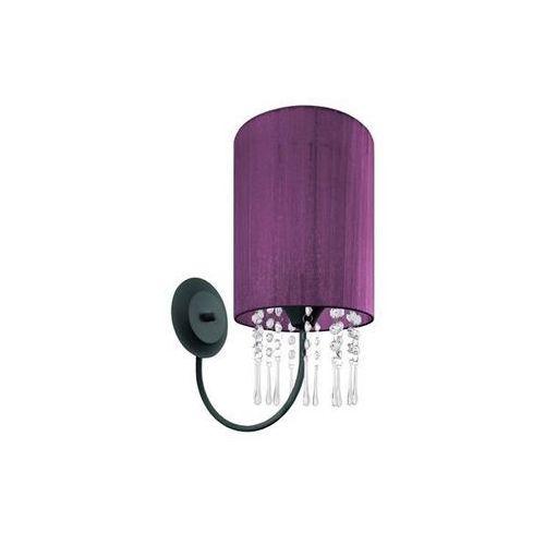 Lampex Kinkiet wenecja fiolet - fioletowy
