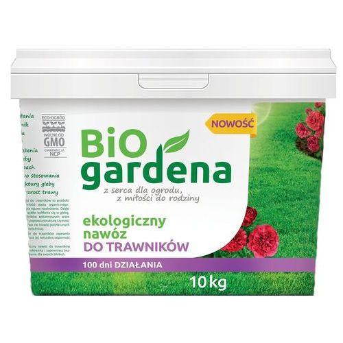 Nawóz do trawników eko 10 kg - bio gardena marki Bio gardena (nawozy i preparaty)
