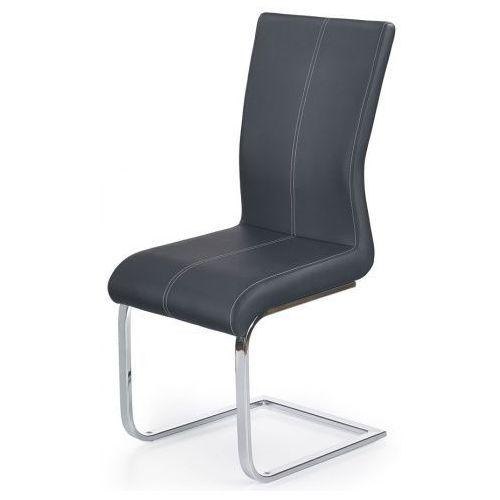Krzesło tapicerowane Aspen - czarne, V-CH-K/218-KR-CZARNY