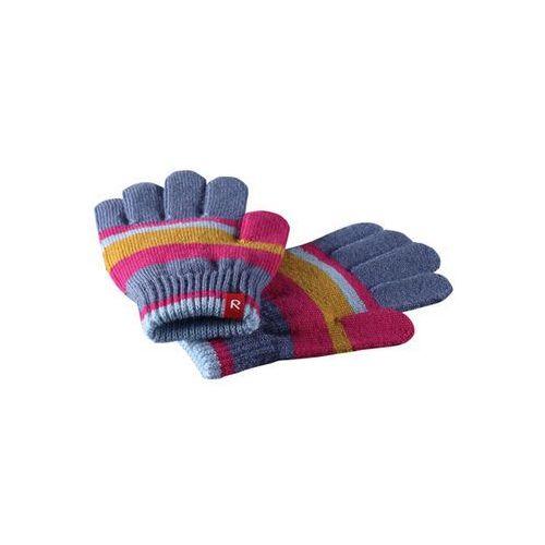 Rękawiczki Reima Twig różowe w paski (6416134668216)
