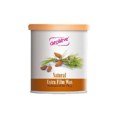 natural extra film wax wosk do depilacji bezpaskowej - naturalny (800 g.) marki Depileve