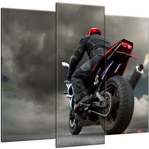 Obraz na płótnie czerwony ścigacz ściagcz motocykl marki Cenodi