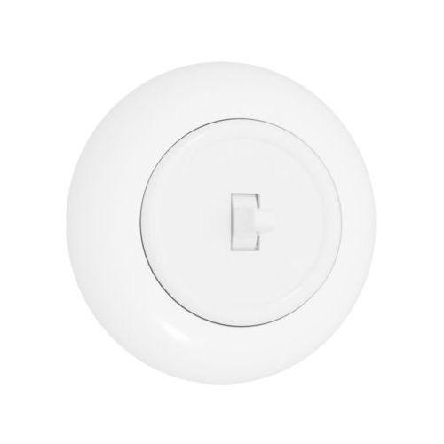 Dpm Włącznik pojedynczy lf0011w loft biały (5903332587452)